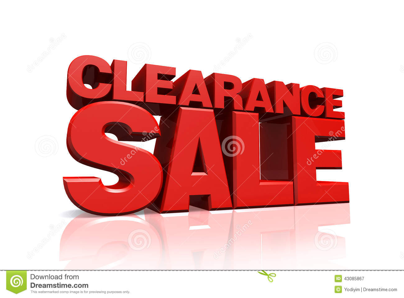 3d red text clearance sale stock illustration image for Clearance wallpaper