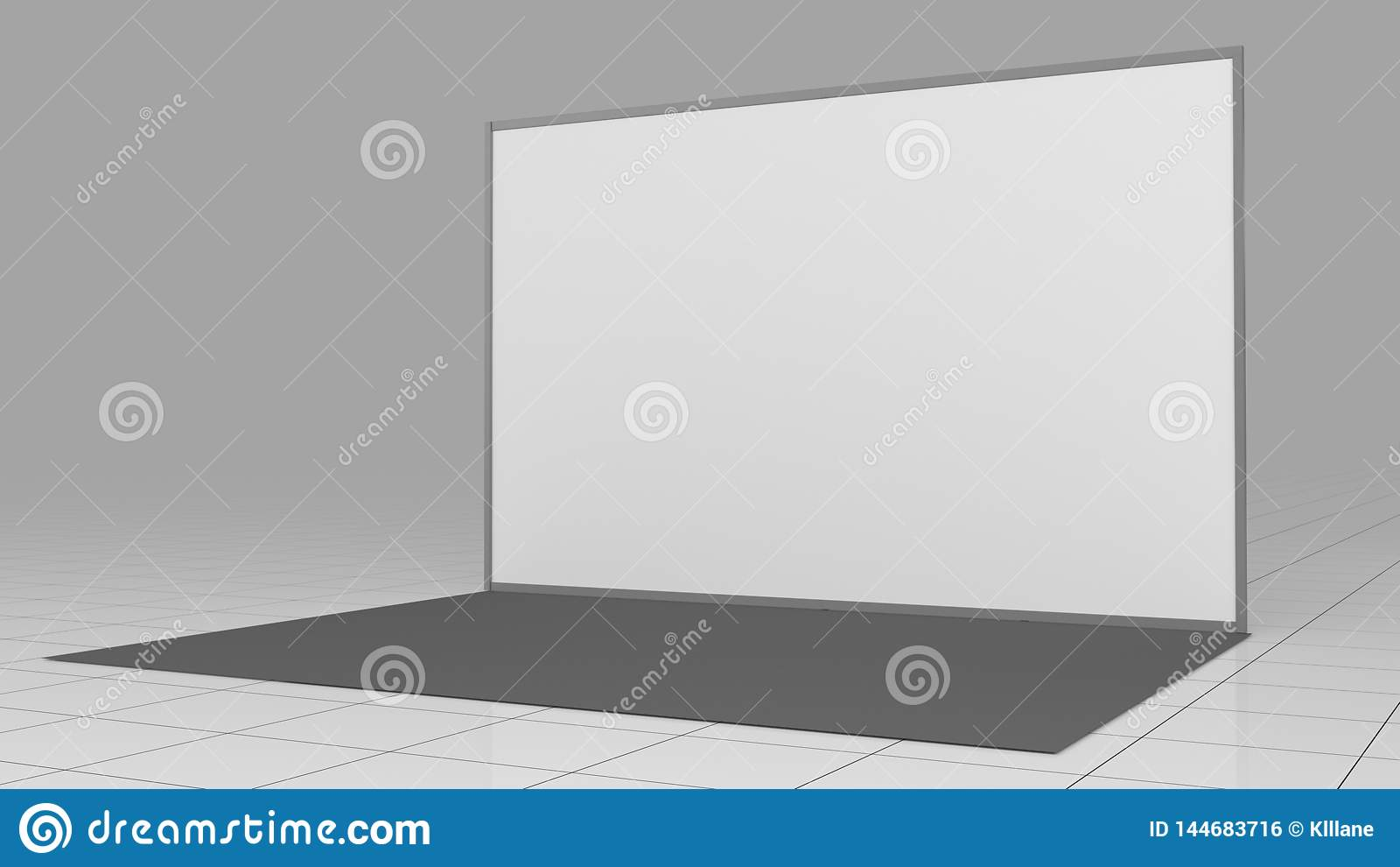 3d rendem a parede 4x2 da imprensa ? considerado como o s?mbolo do capital antigo xi   backdrop Modelo 3d rendem isolado no fundo