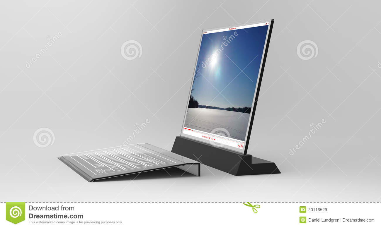 Bureau transparent illustration stock illustration du