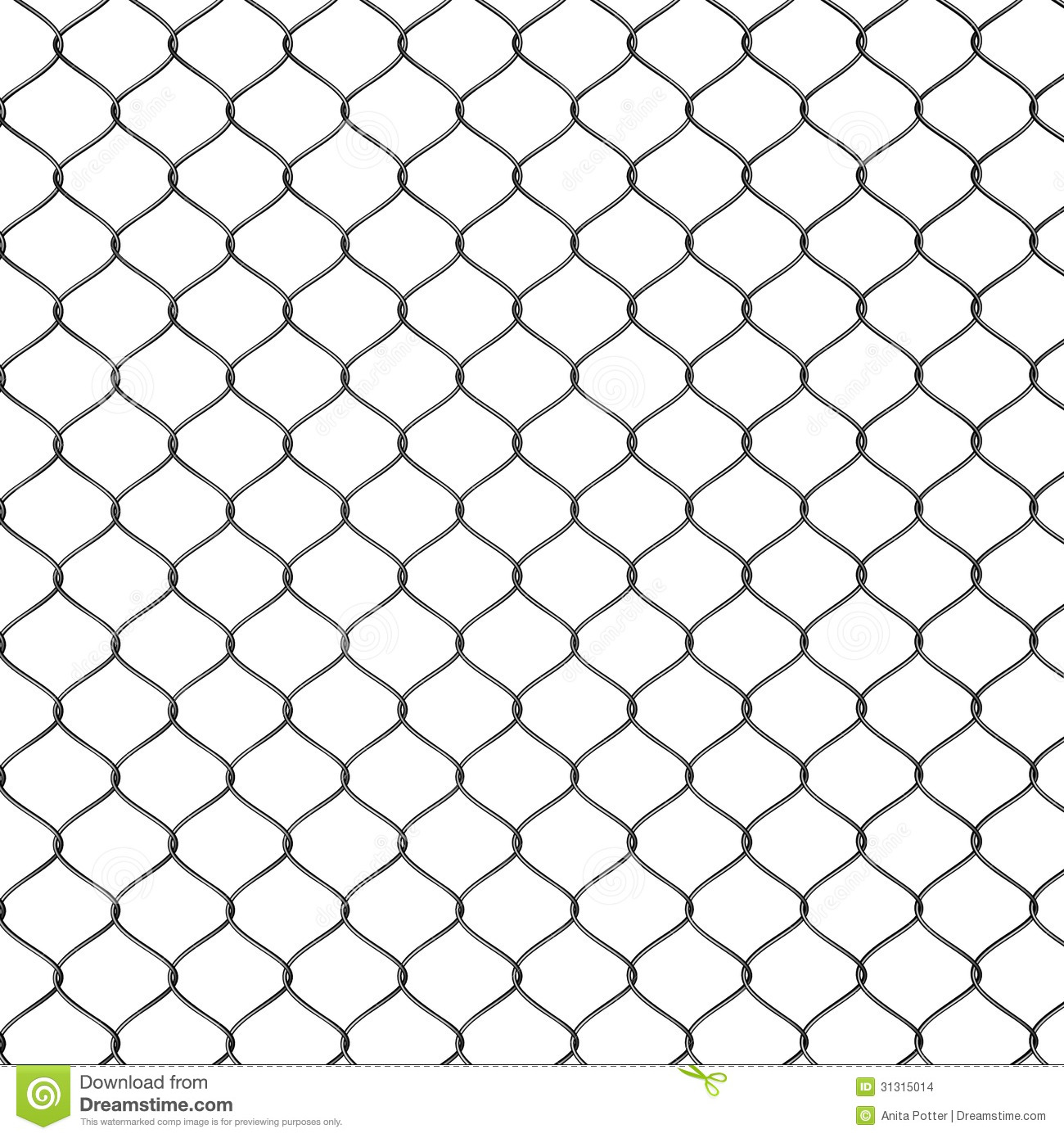 chain link fence vector. Chain Link Fence Seamless Vector