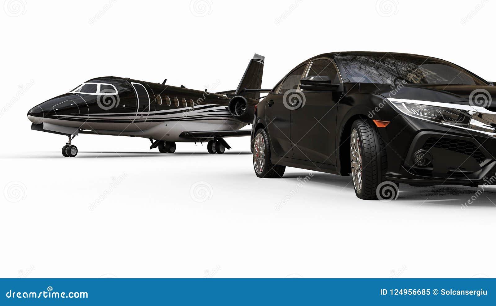 Download Rich Lifestyle Transportation Vehicles Stock Illustration