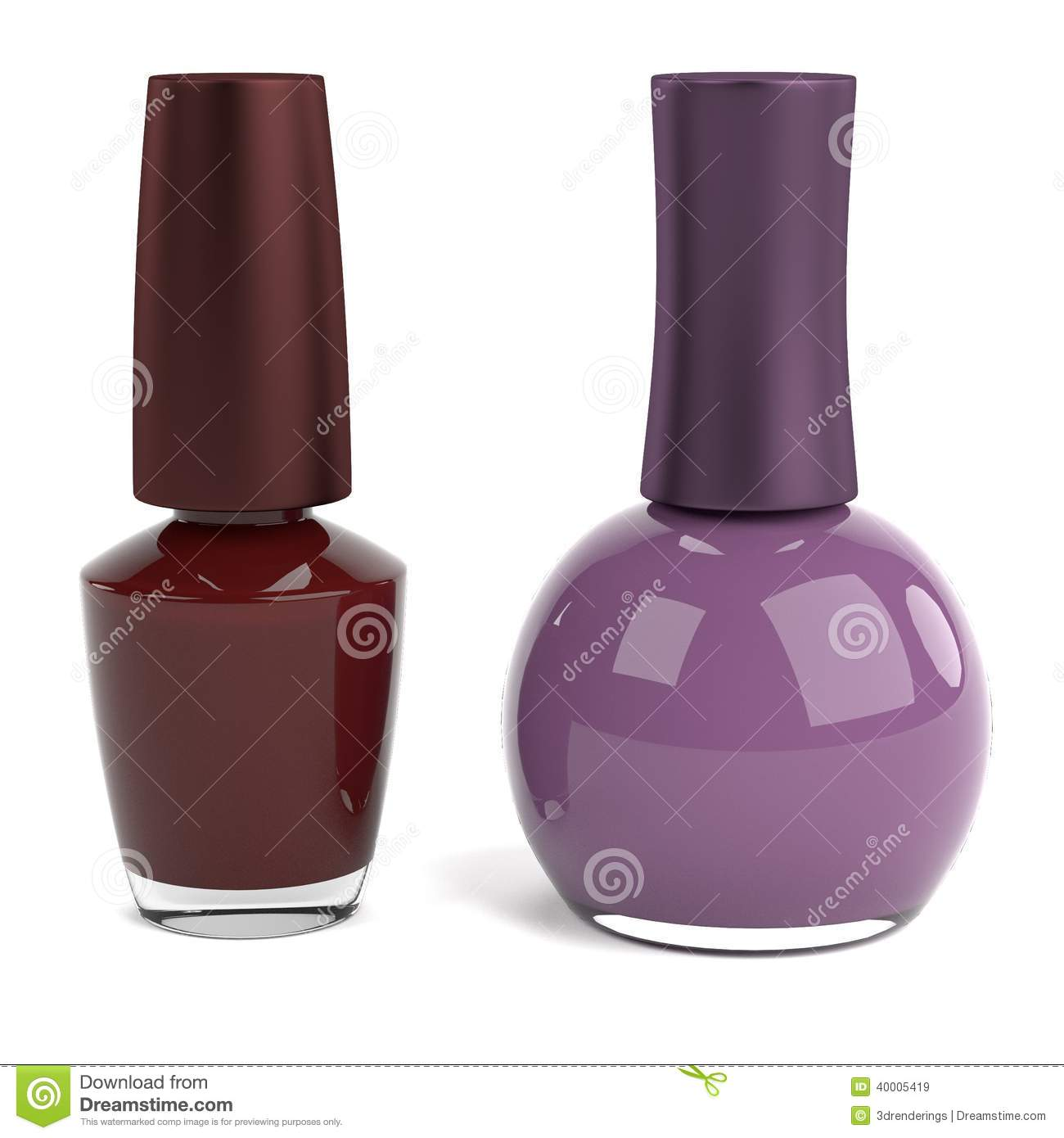 3d render of nailpolish stock illustration image 40005419 for How to renew old nail polish