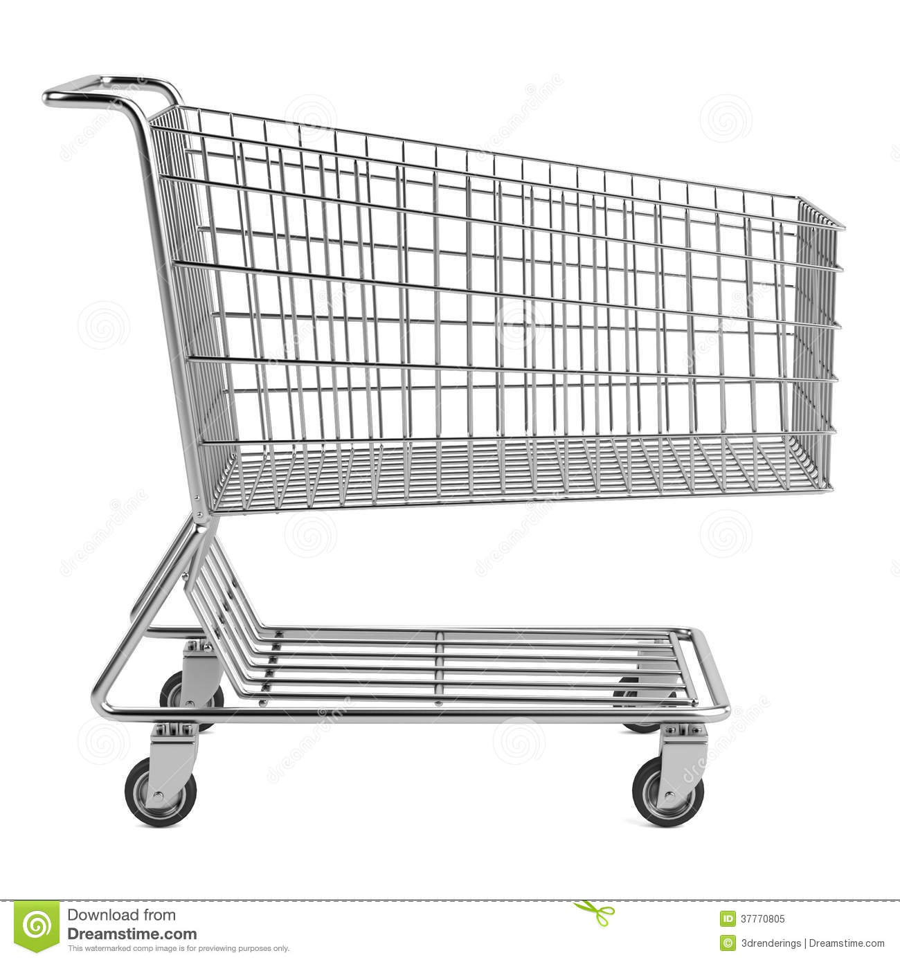 It is an image of Declarative Shopping Cart Drawing