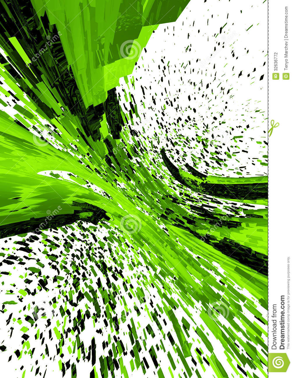 3d abstract background stock photography image 32636772 Green plans