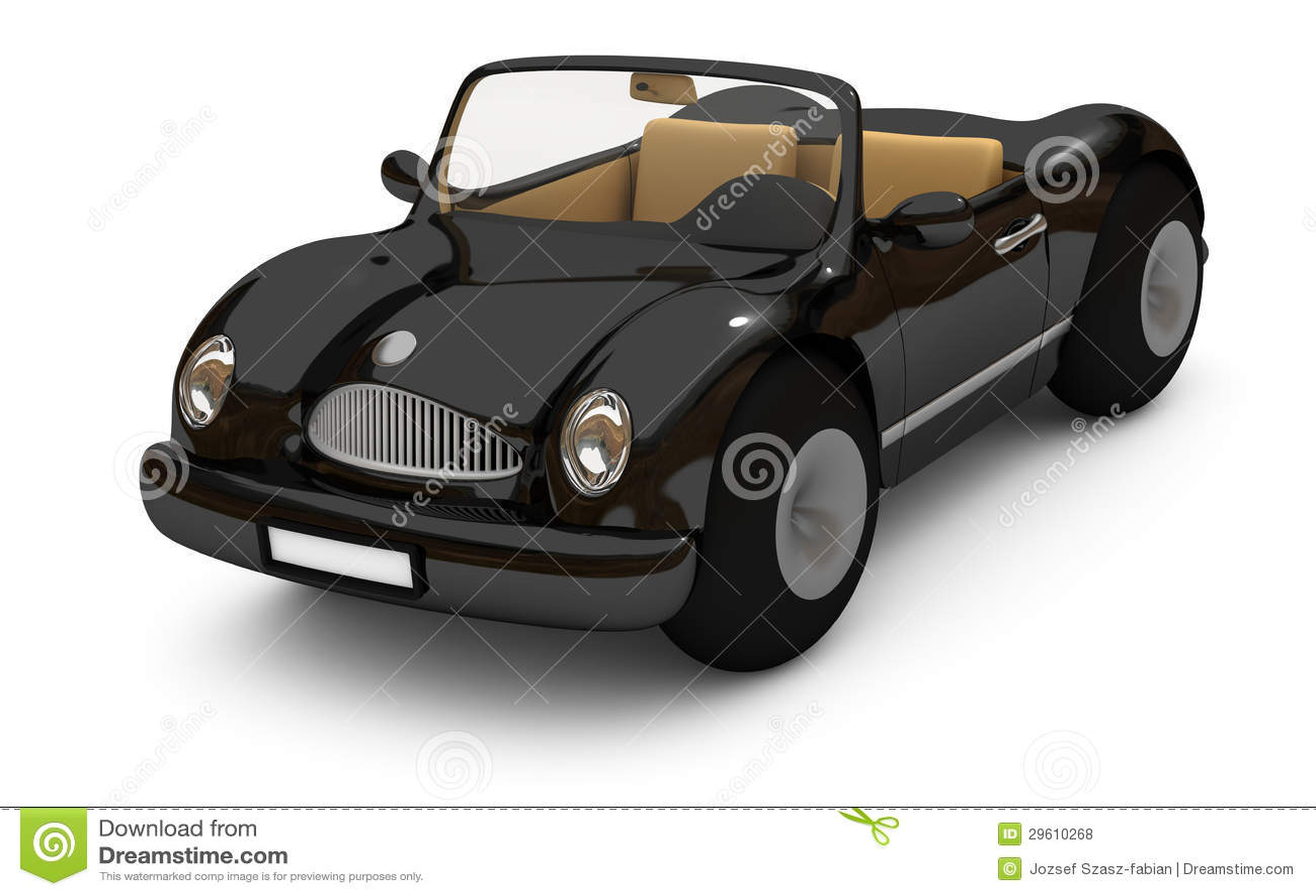 svart skåp bil ~ 3drendering av en svart bil royaltyfria foton  bild