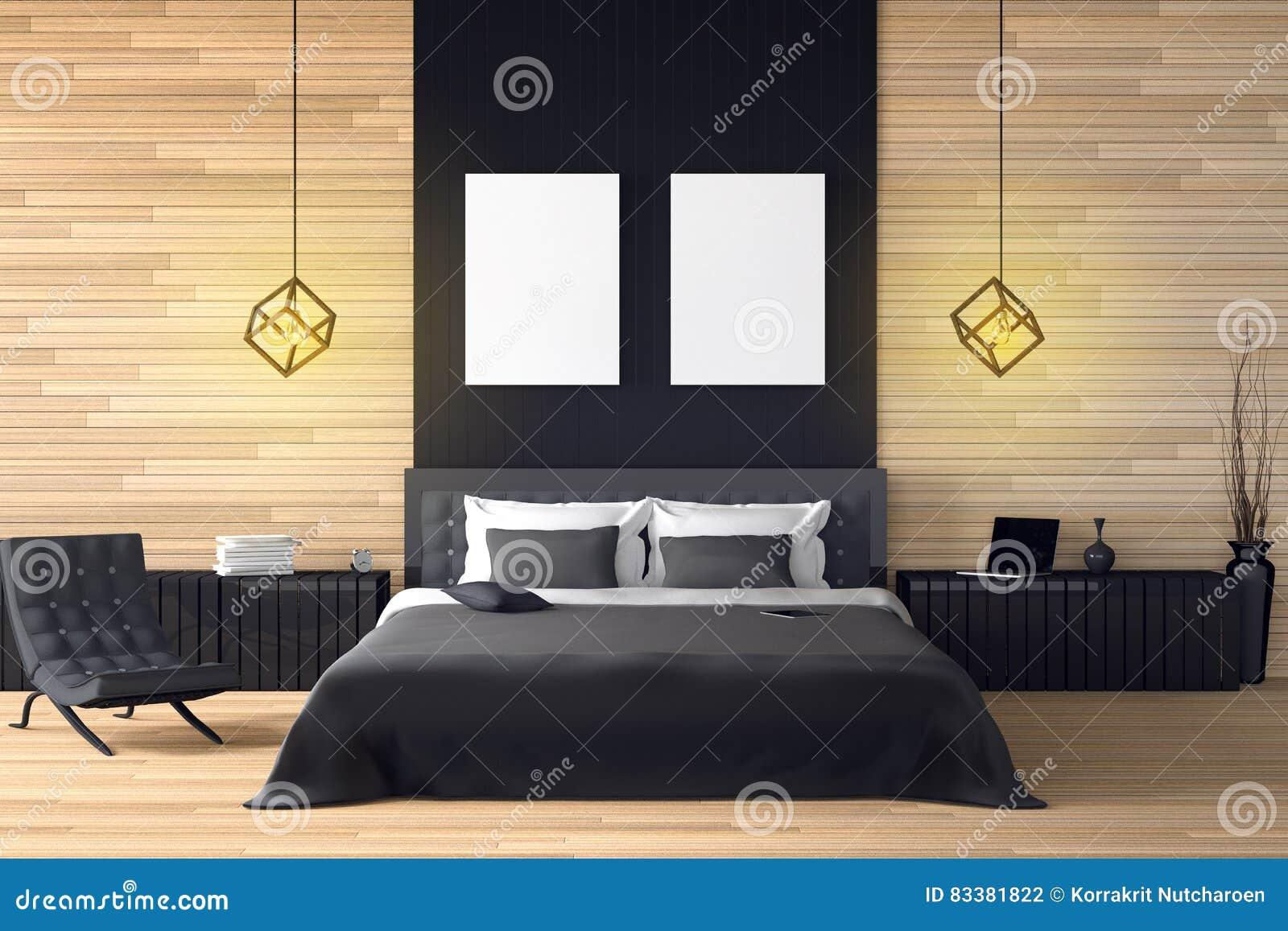 3d Rendering Illustration Of Modern Wooden House