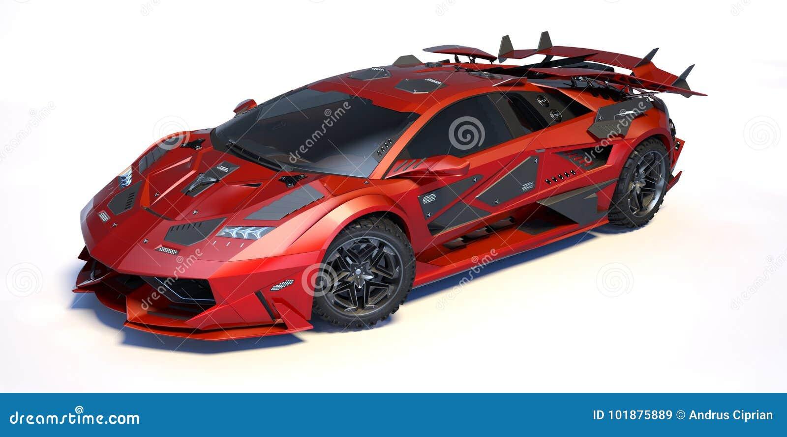 3D rendering - rodzajowy pojęcie samochód