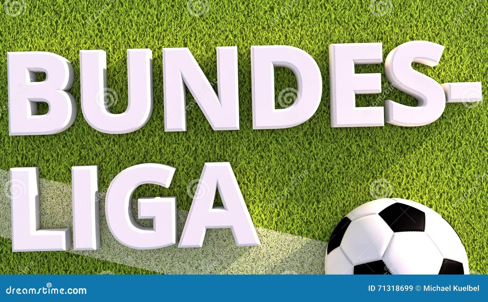 3d rendono di un pallone da calcio su erba bundesliga - Pagina da colorare di un pallone da calcio ...