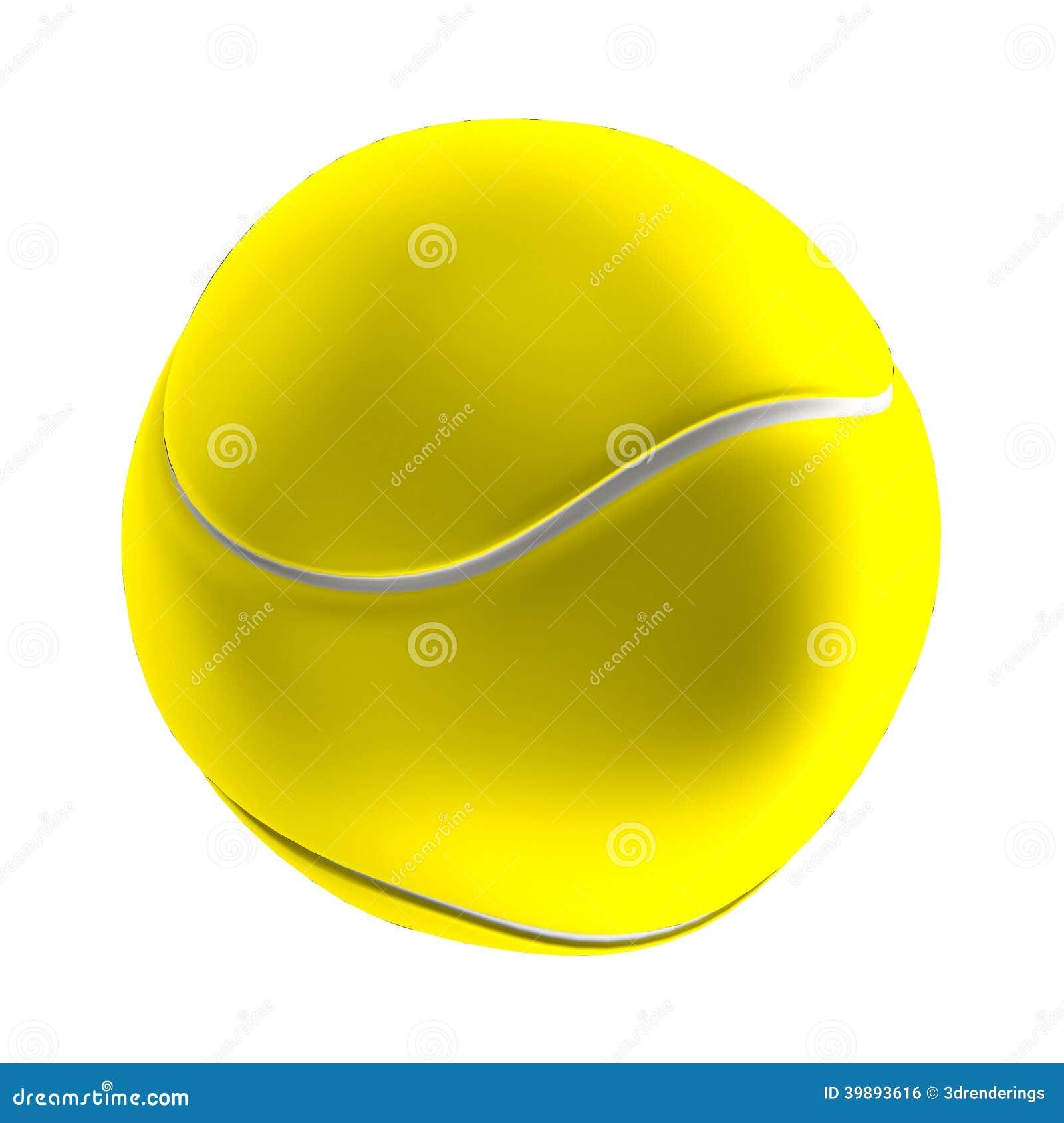 Tenis pelota stock de ilustracion ilustracion libre de stock de - 3d Rinden De Pelota De Tenis Stock De Ilustraci N