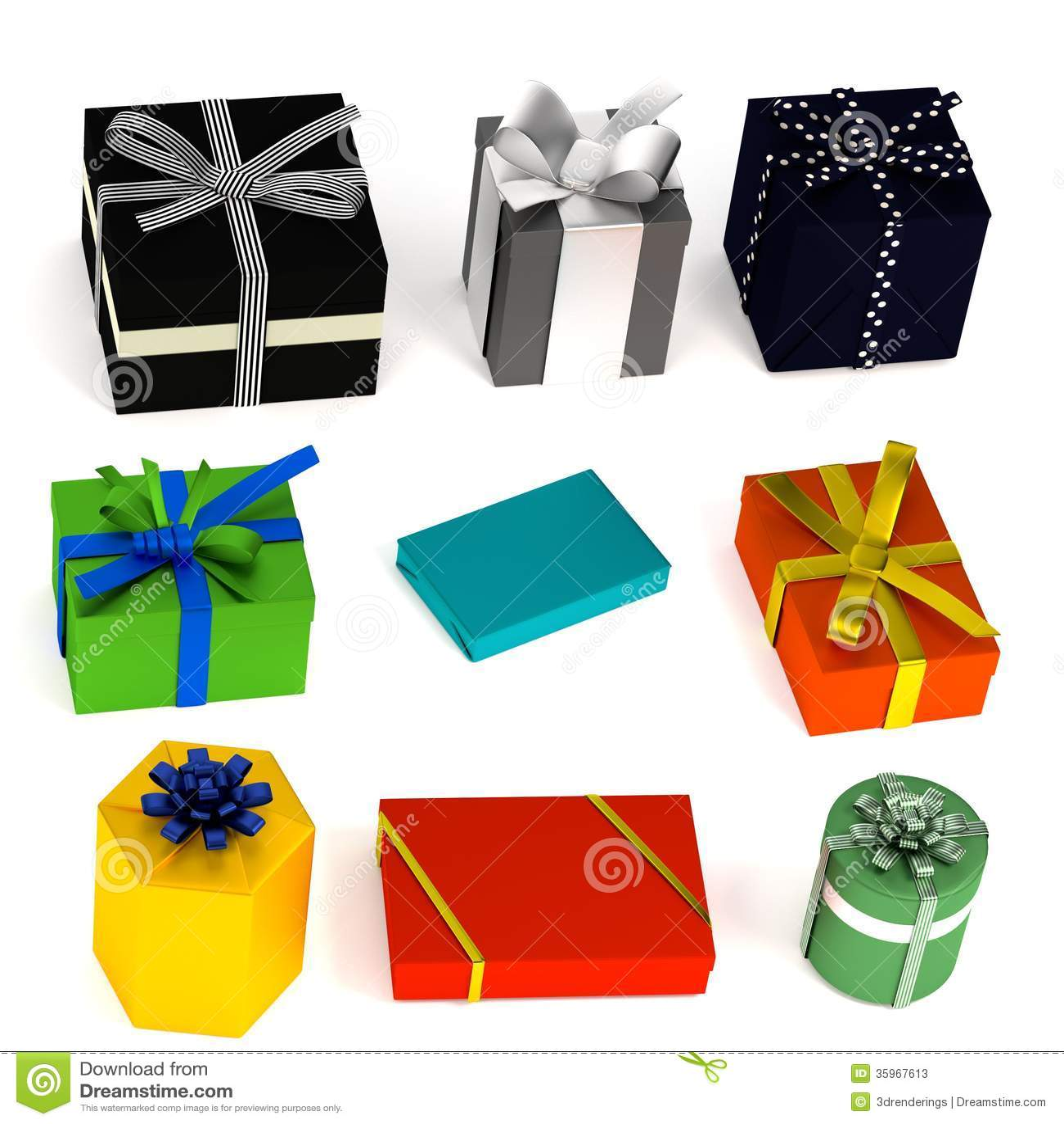 3d rinden de regalos
