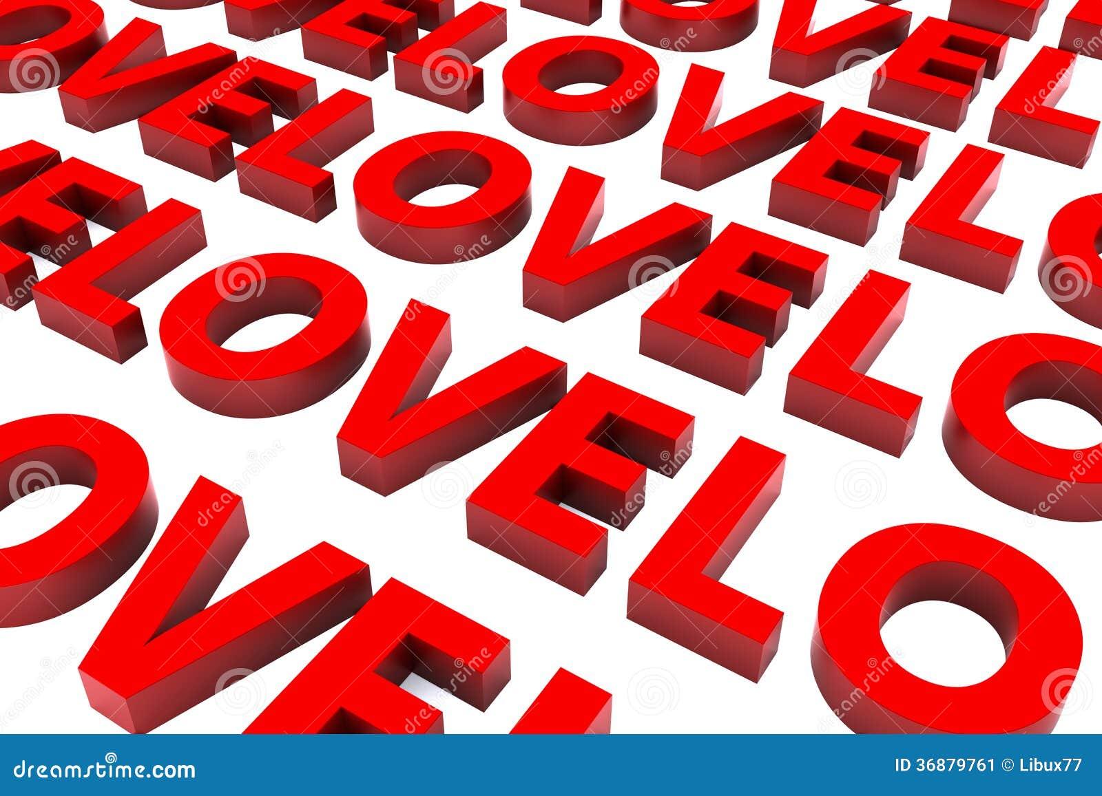 Download 3d San Valentine Love Background Illustrazione di Stock - Illustrazione di amore, festa: 36879761
