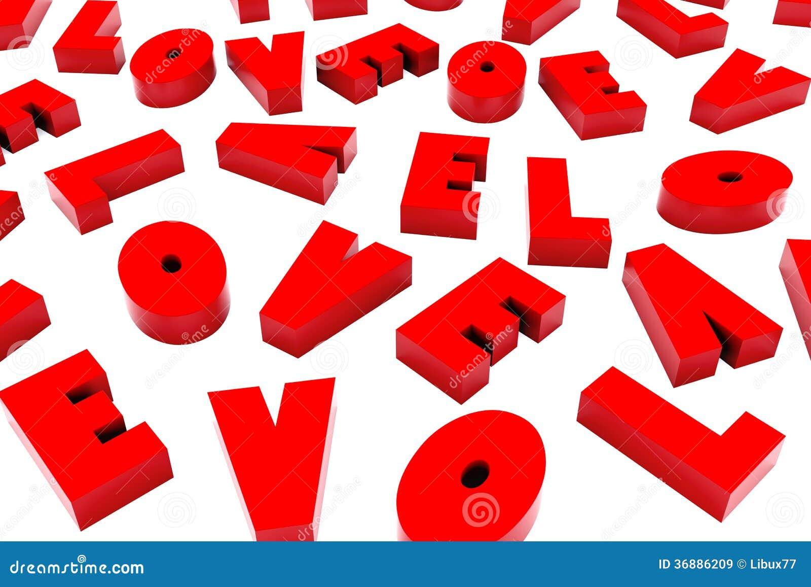 Download 3d San Valentine Love Background Illustrazione di Stock - Illustrazione di amore, wallpaper: 36886209