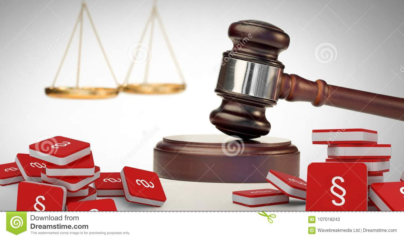 3d section symbol icons and justice gavel with balance scales stock 3d section symbol icons and justice gavel with balance scales color code biocorpaavc Images