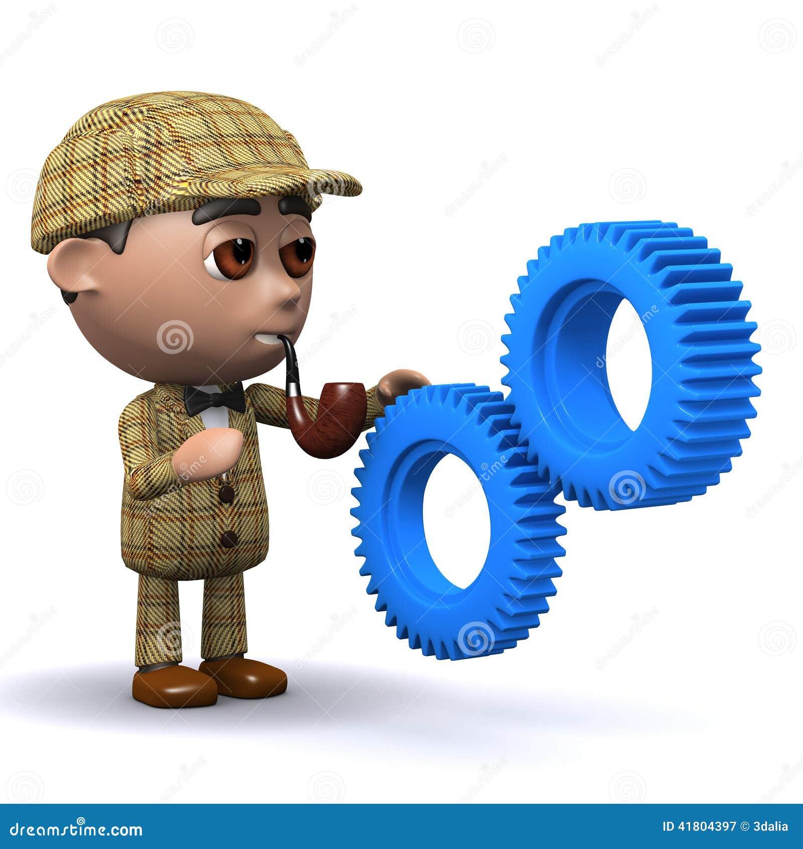 3d Sherlock嵌齿轮