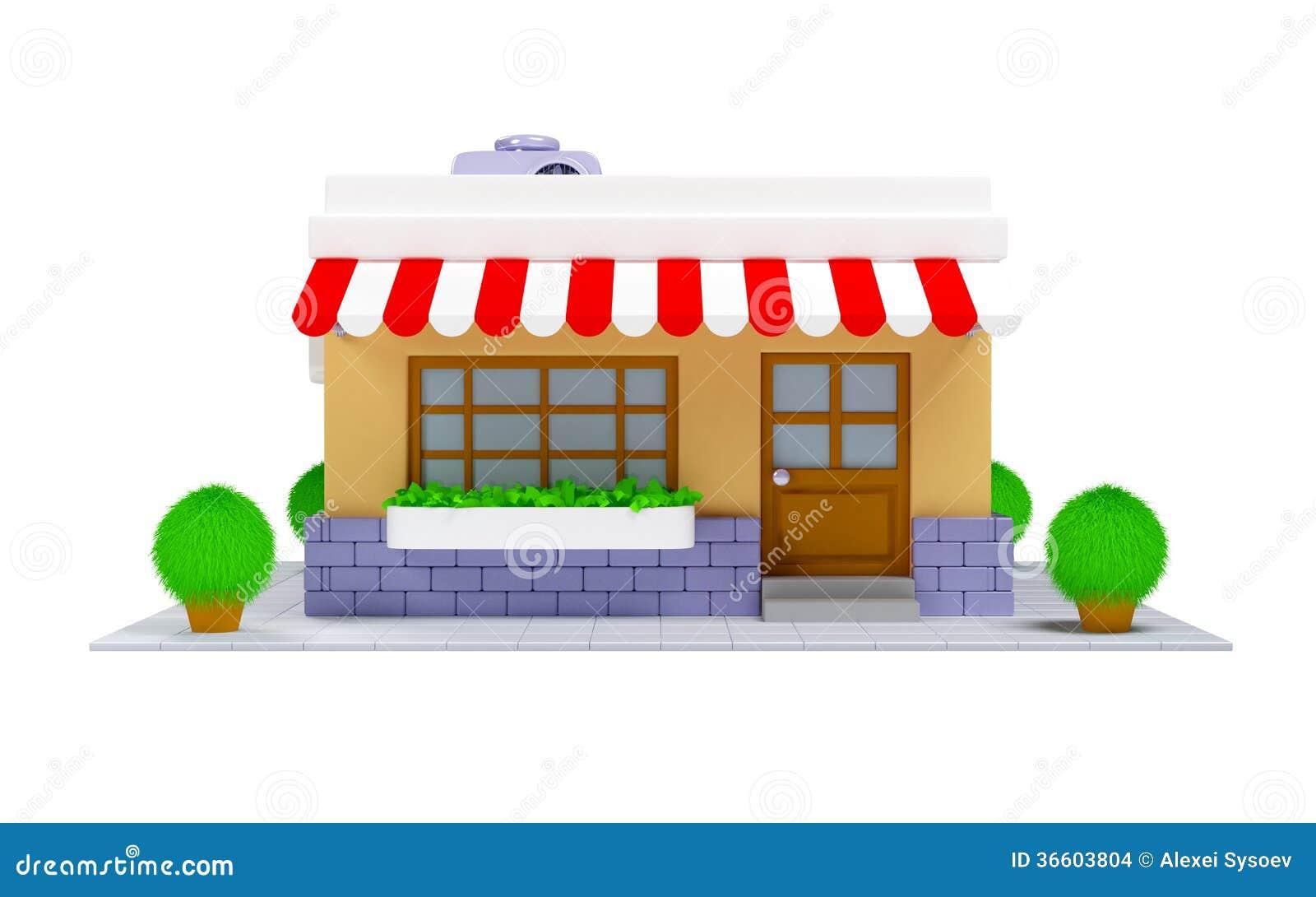 3d shop icon stock images image 36603804 for 3d house builder online