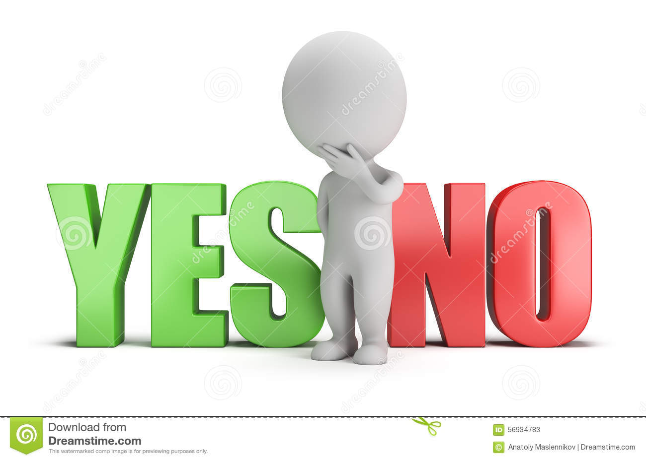 3d small people - yes or no