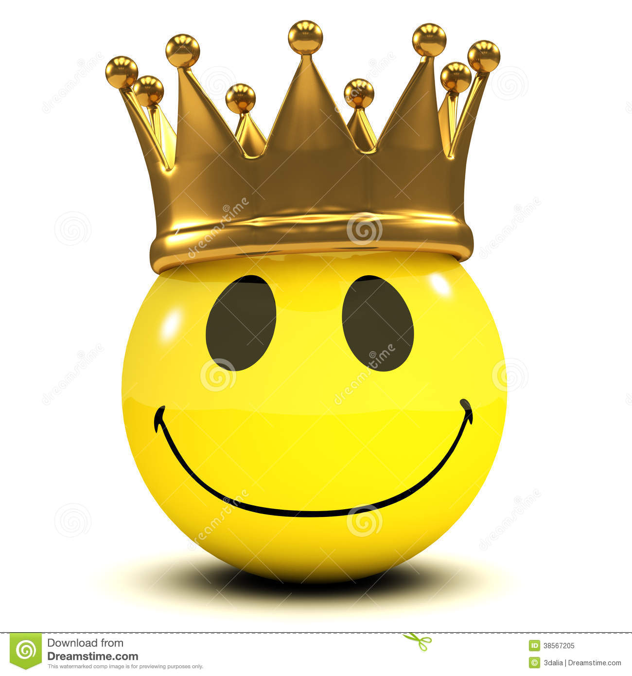 3d smiley king stock illustration illustration of friendly 38567205 3d smiley king biocorpaavc Gallery