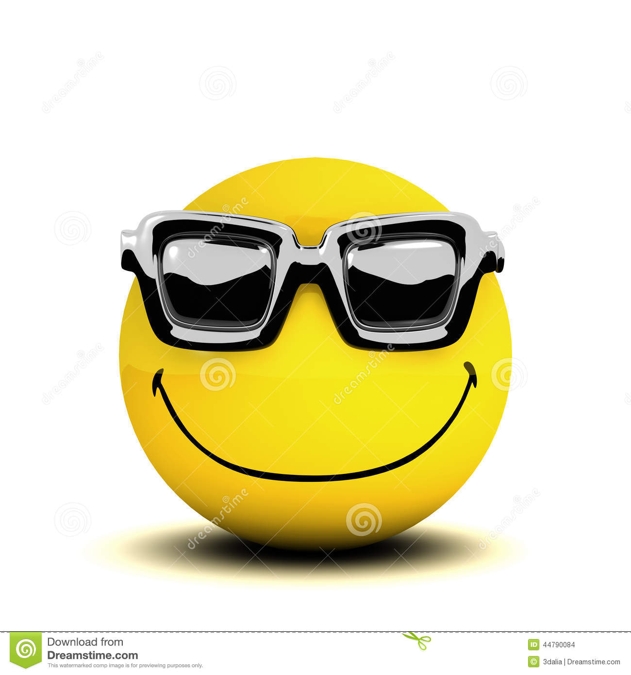 Cool Smiley Face Thumbs Up 3d Smiley Sunglasses S...