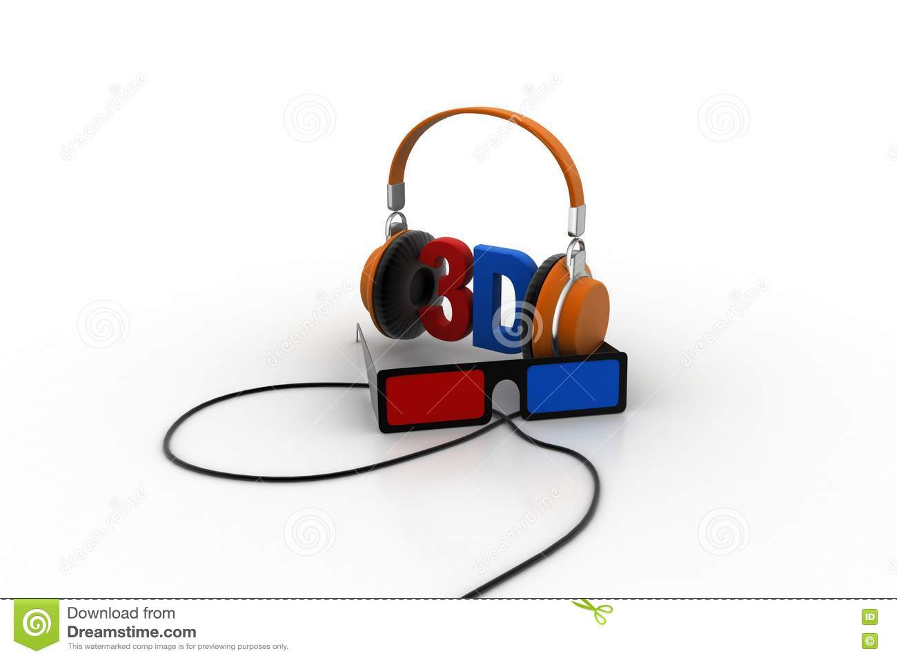 3d songs concept stock illustration  Illustration of image - 75835517