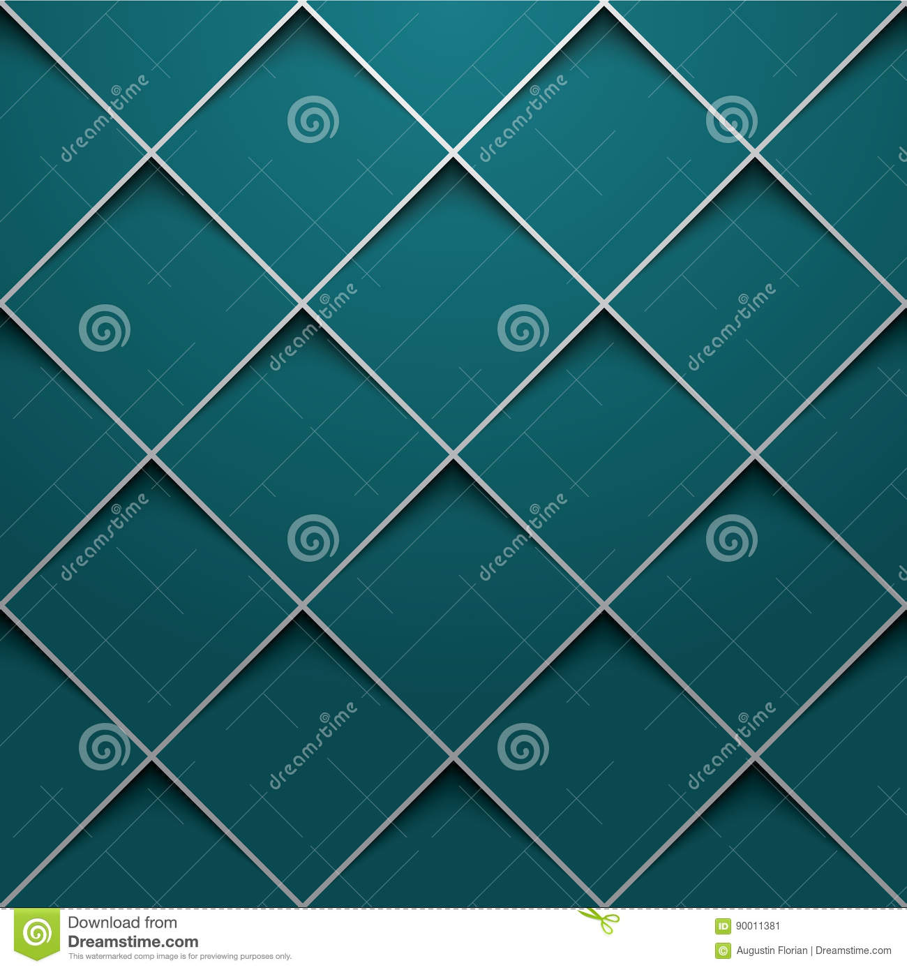 3d square design template stock vector illustration of layout