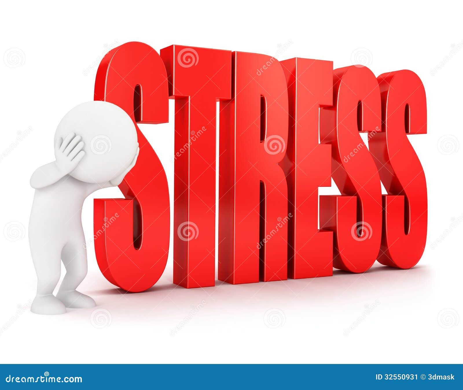 3d stresu biali ludzie