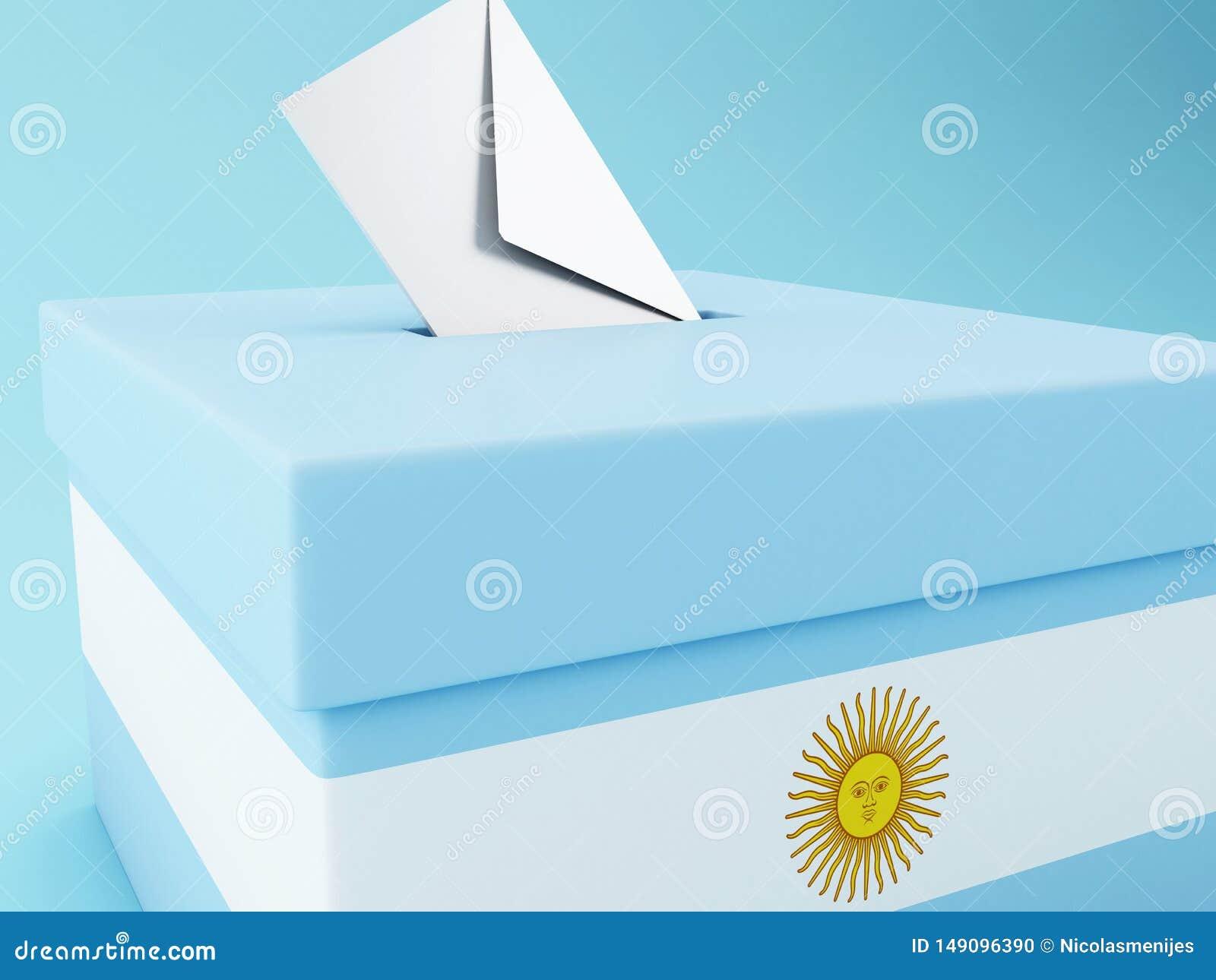 3d tajnego g?osowania pude?ko, Argentyna wybory 2019