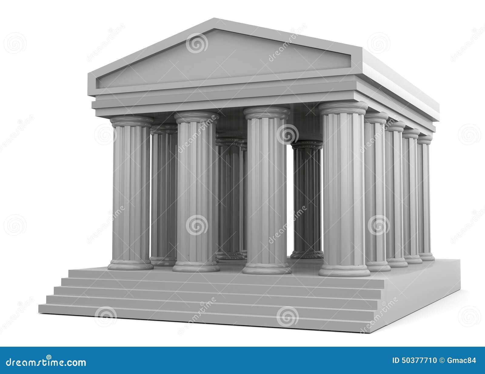 3D tempel -