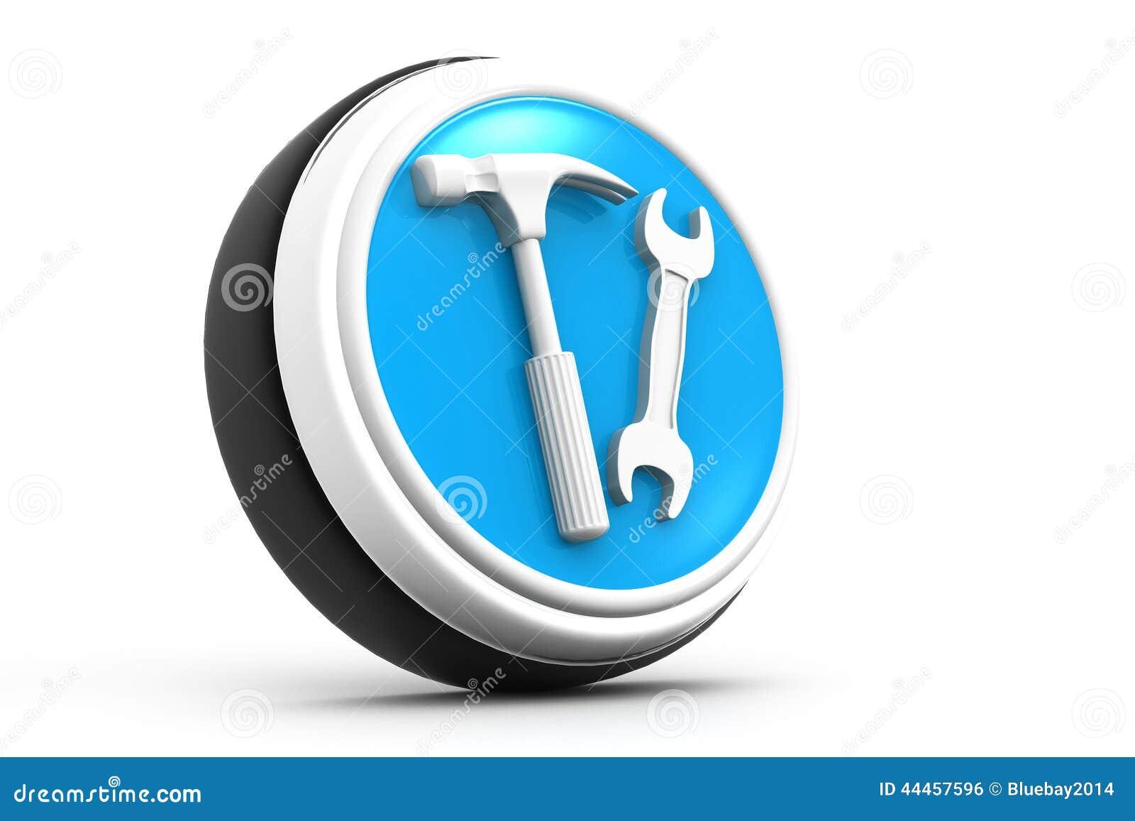 3d Tools Icon Stock Illustration Image 44457596