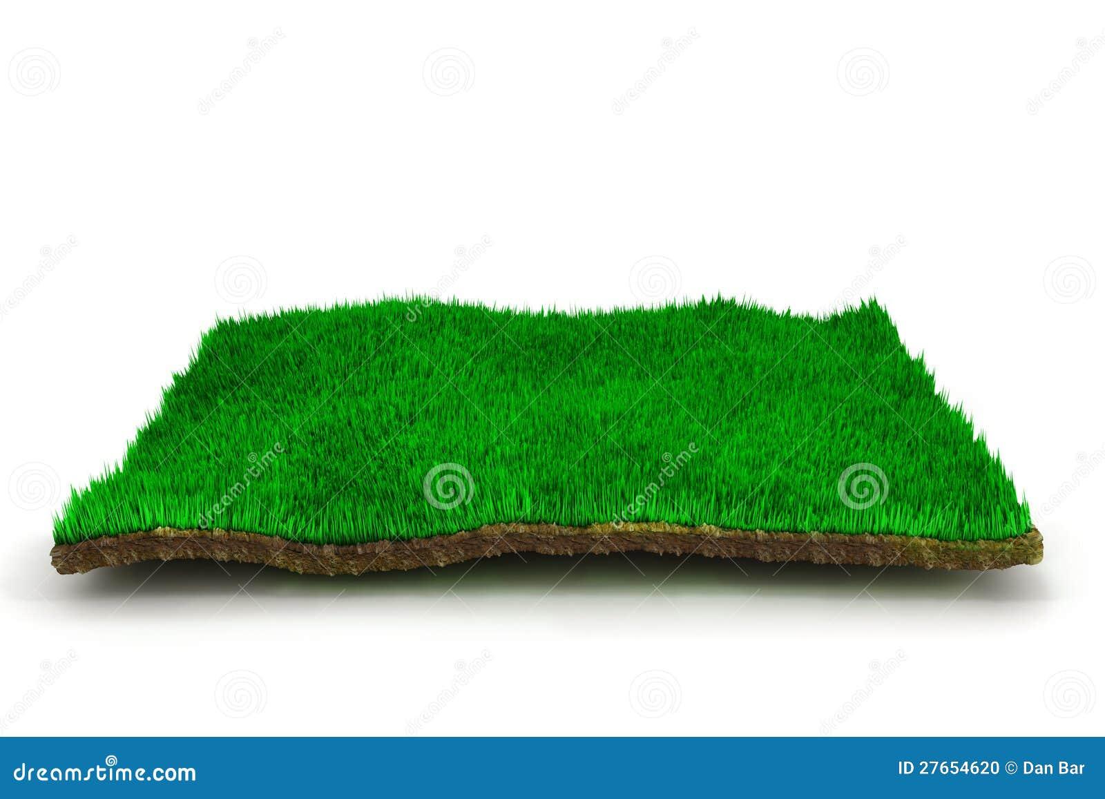 3d trawy gazon