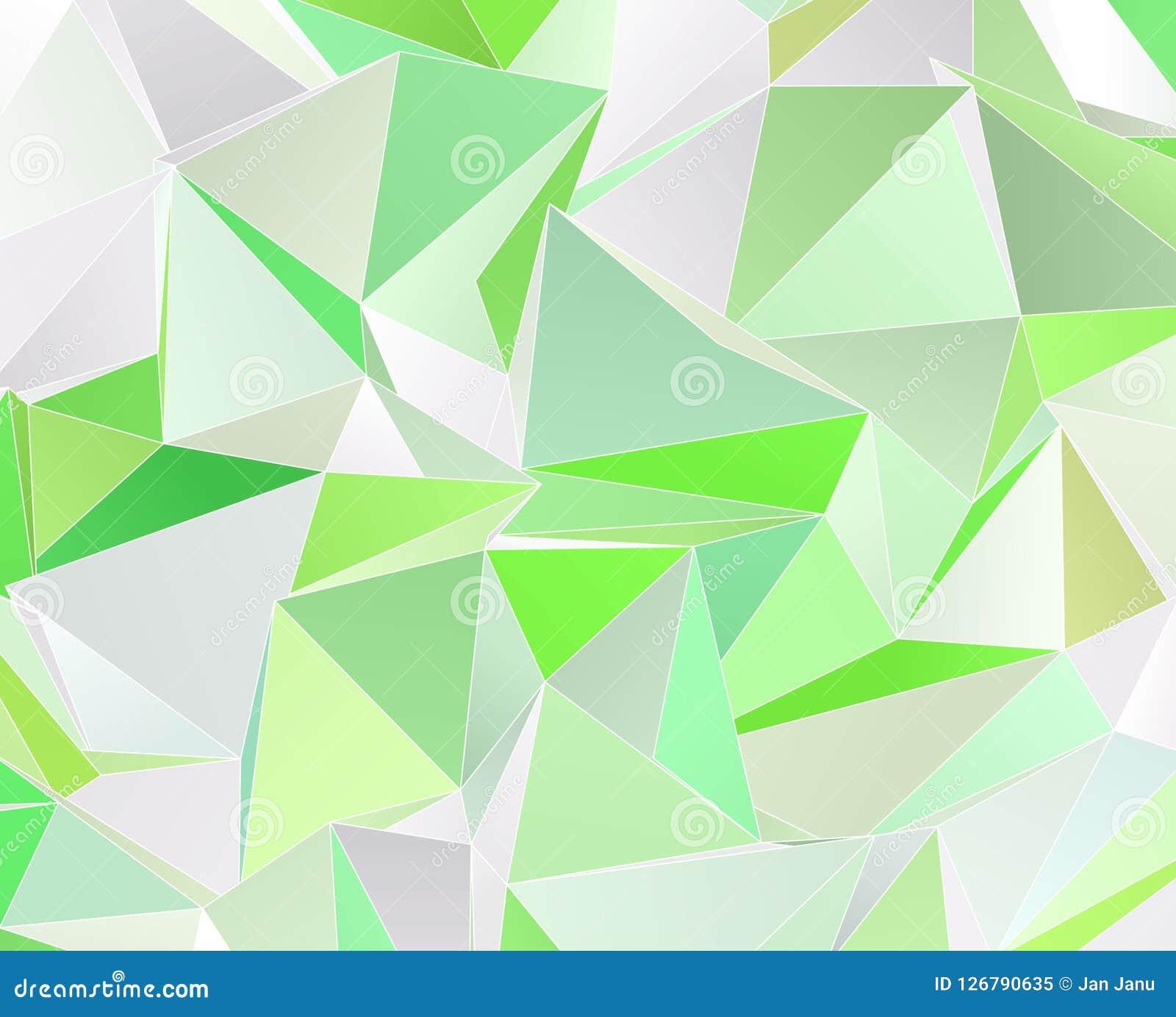 Triangular 3d Modern Background Stock Illustration Illustration