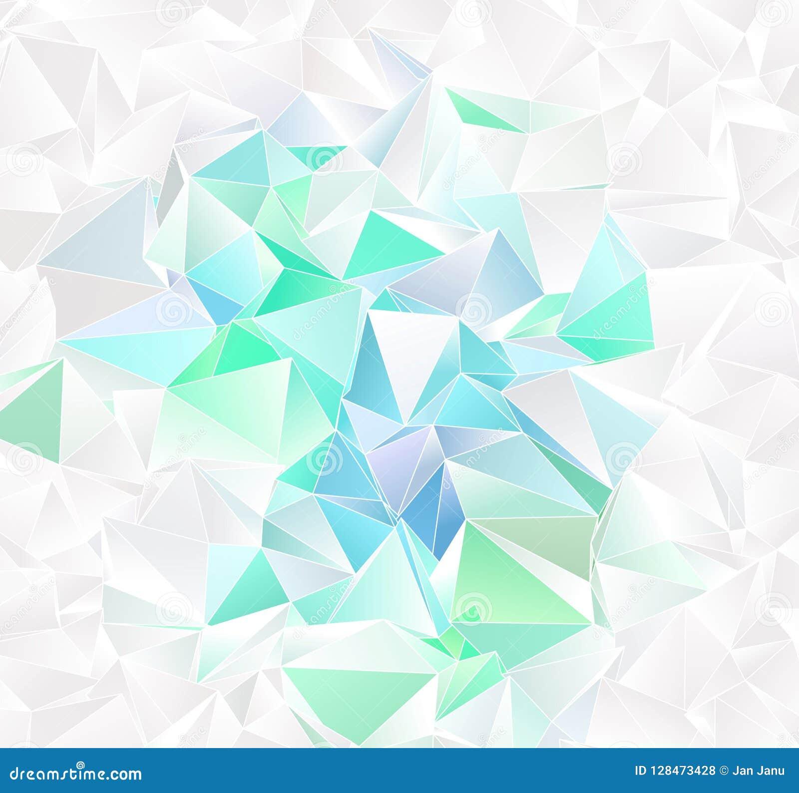 Triangular 3d, Modern Background Stock Illustration - Illustration ...