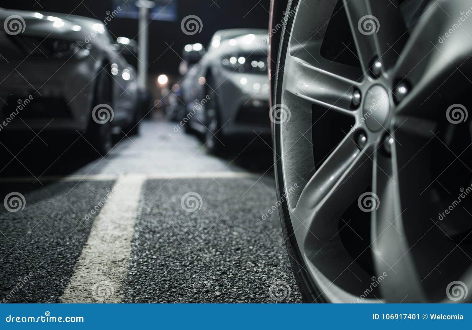 Długookresowy Samochodowy parking