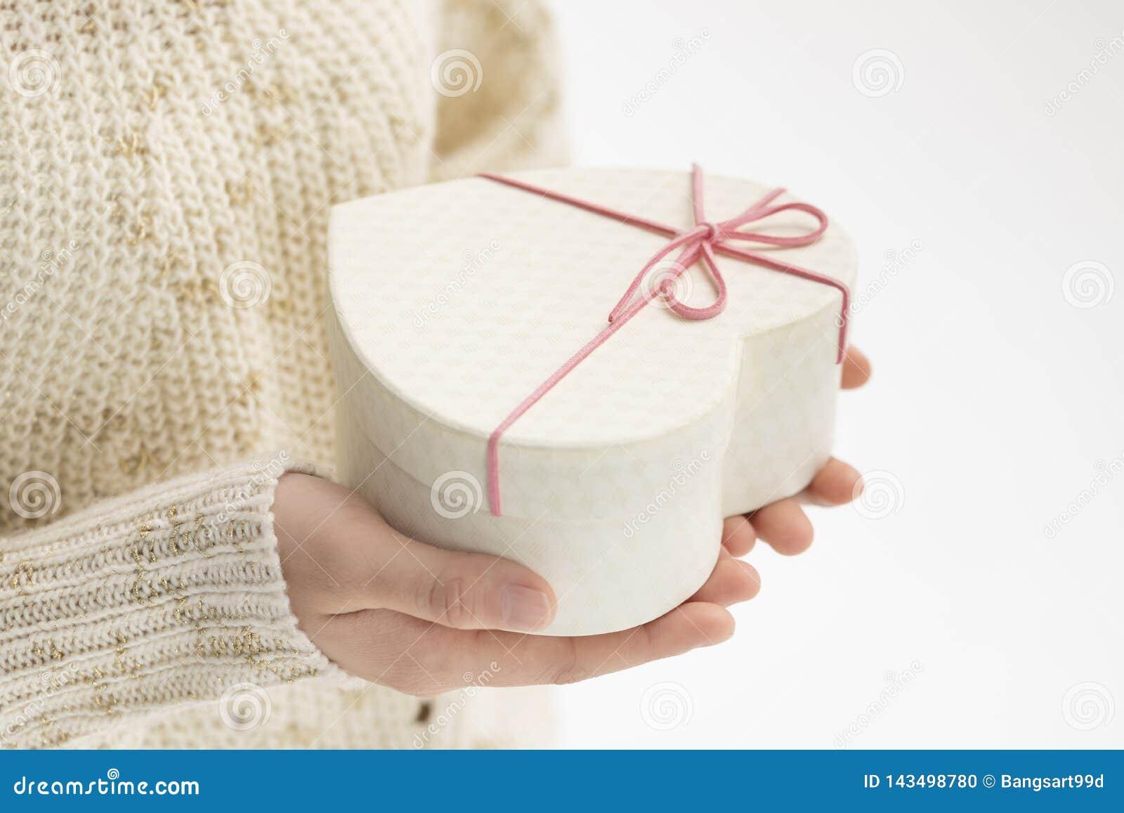 D? uma caixa de presente