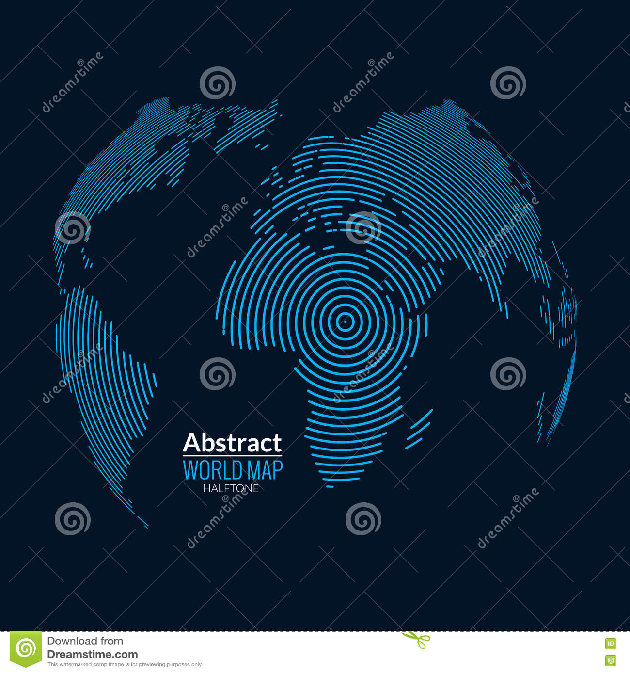 3d vector world map globe planet lines global radial halftone 3d vector world map globe planet lines global radial halftone concept gumiabroncs Choice Image