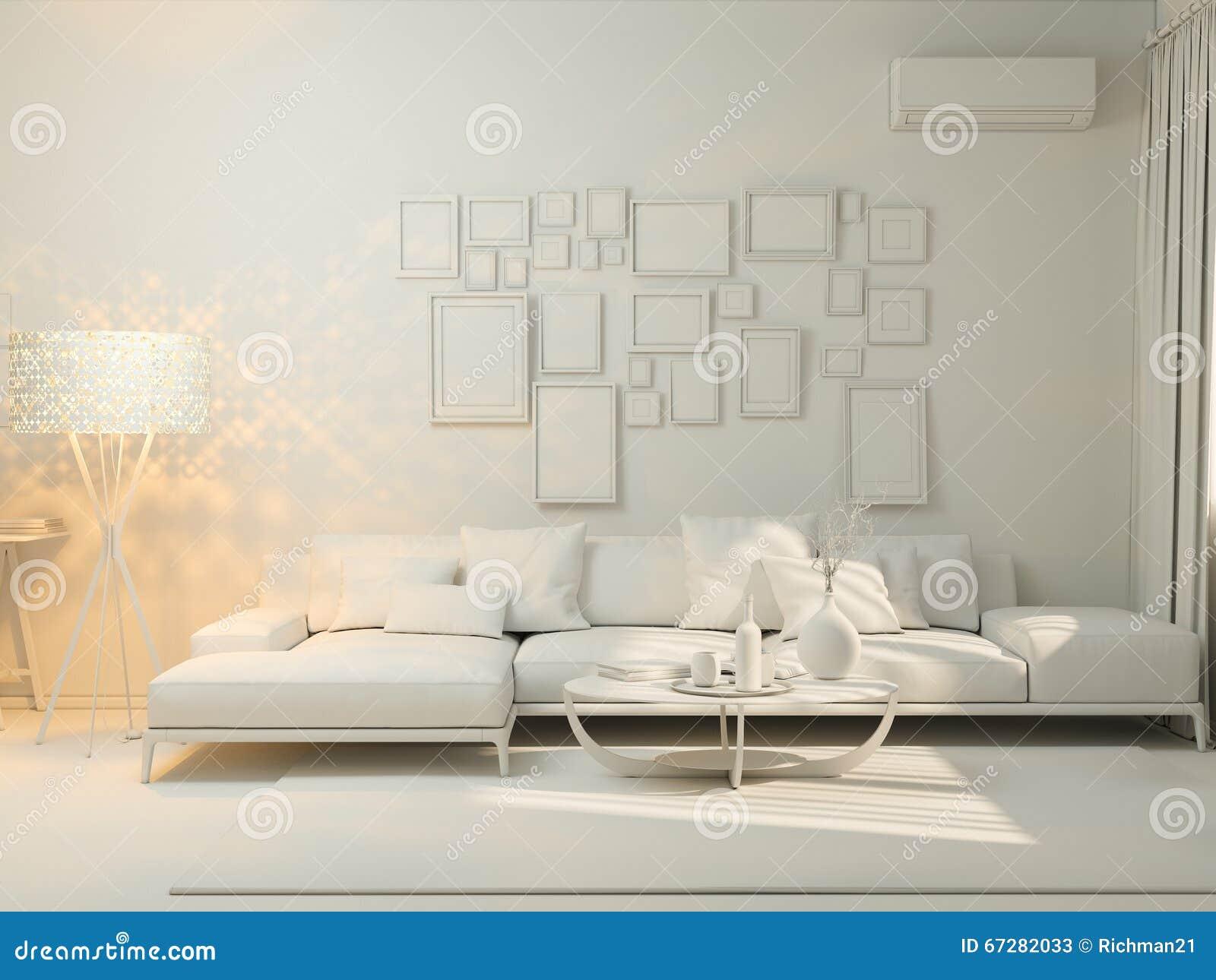 3d Visualization Of Interior Design Living In A Studio