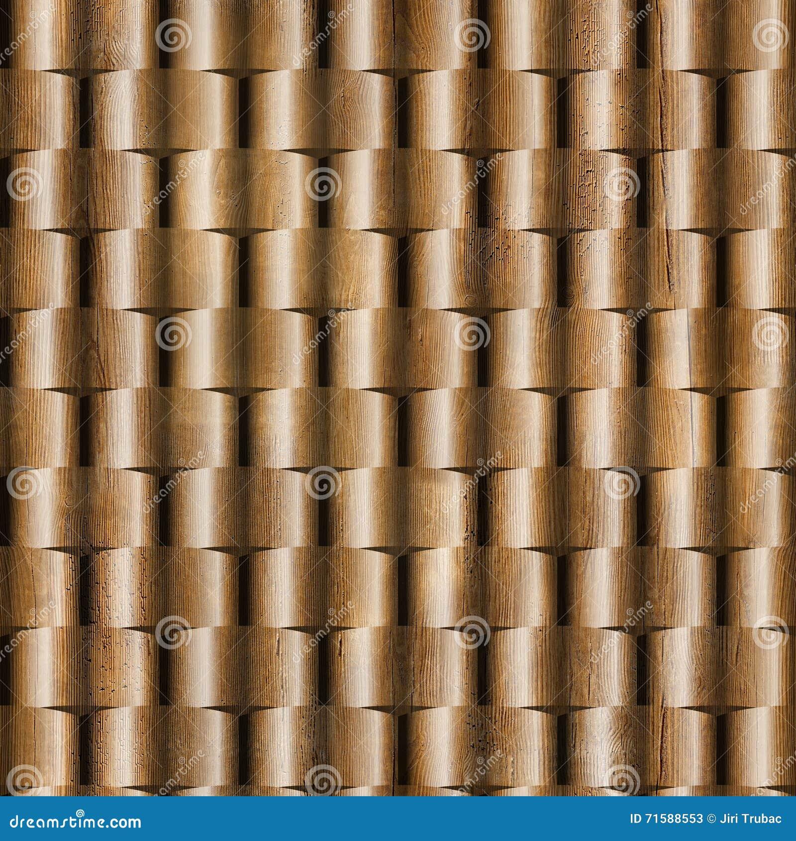 3d Wall Decorative Tiles Wood Texture Decorative