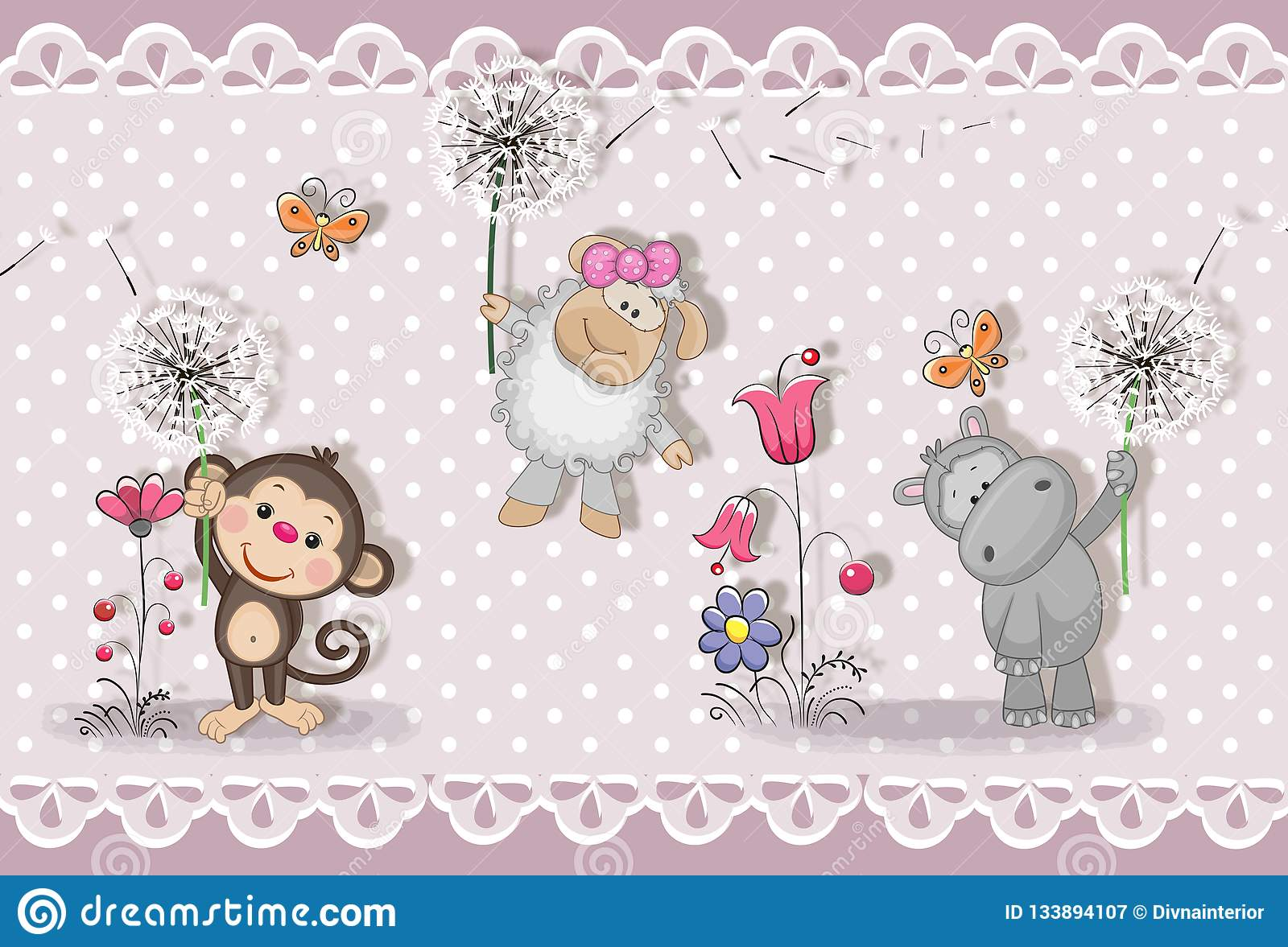 d wallpaper d wallpaper cute baby background little animals greeting card pastel background d wallpaper d wallpaper cute baby 133894107