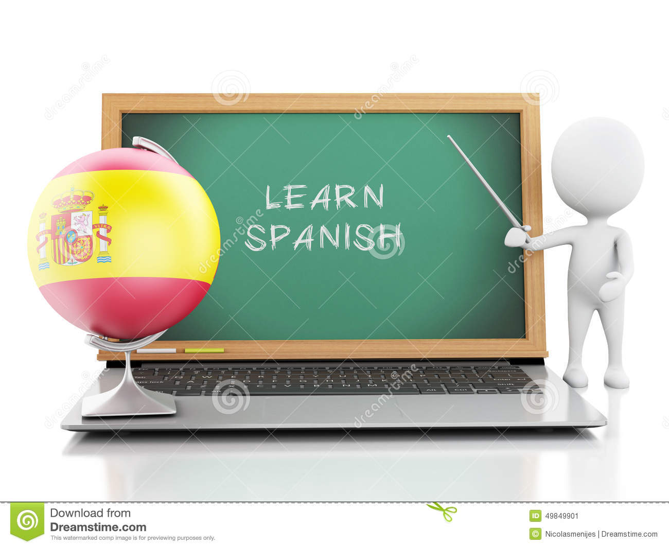 how to say laptop in spanish