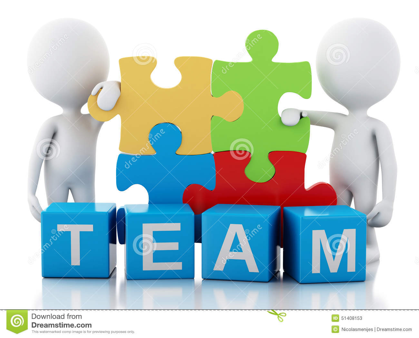 3d White People Work Together. Team Concept Stock Illustration - Image ... Superhero Flying Vector