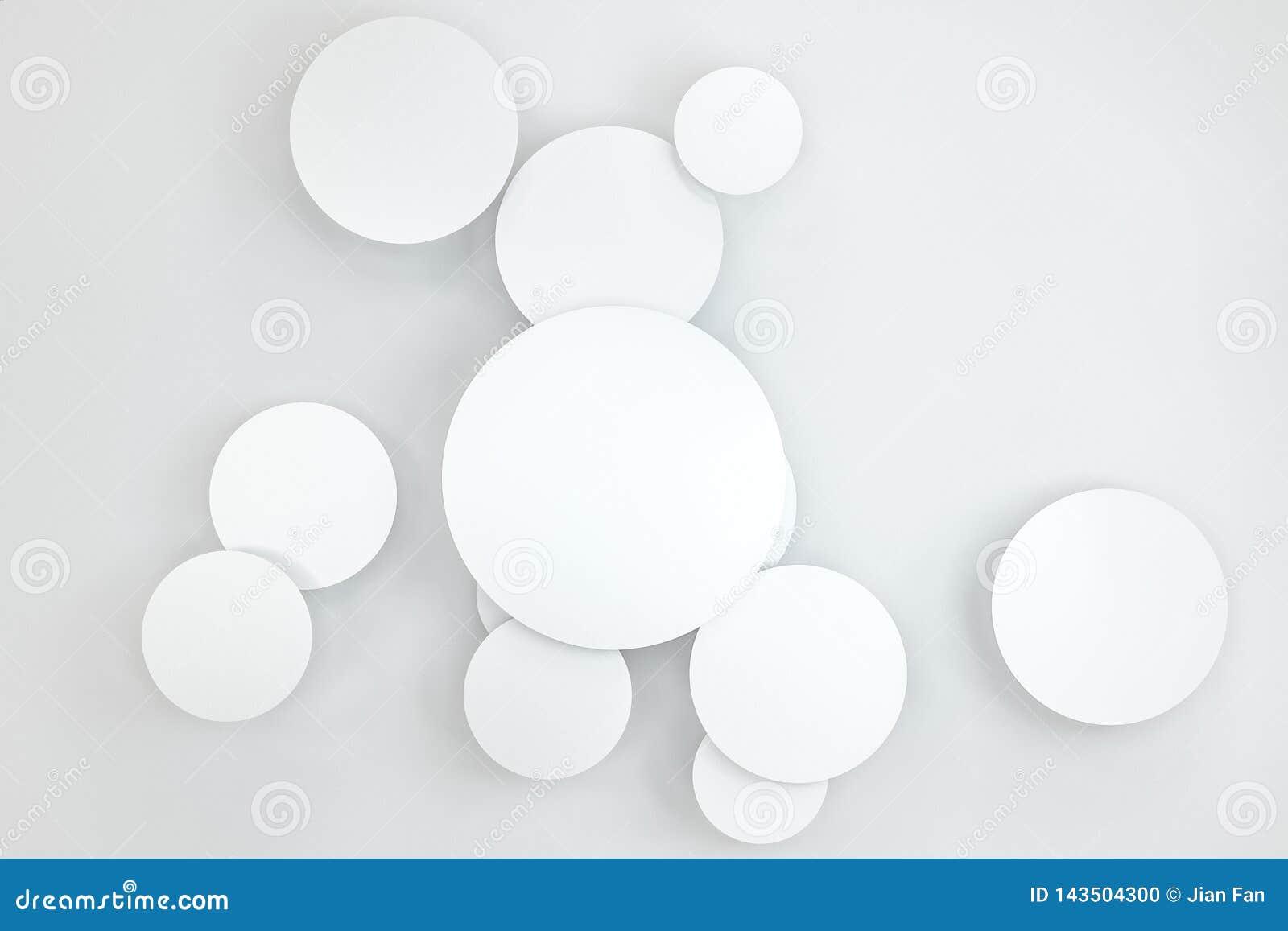 3d Wiedergabe, Kreisrahmen-Kartenschablone