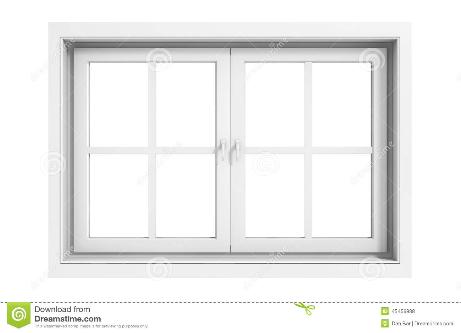 3d window frame
