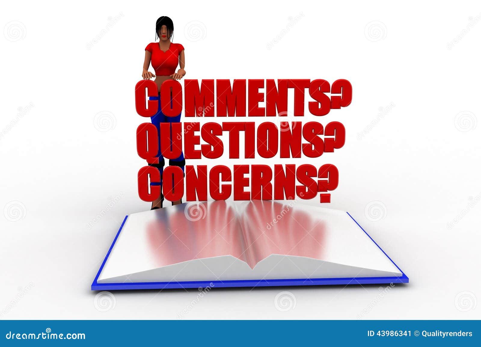 Stock image 3d women comments questions concerns image for Images comment pics