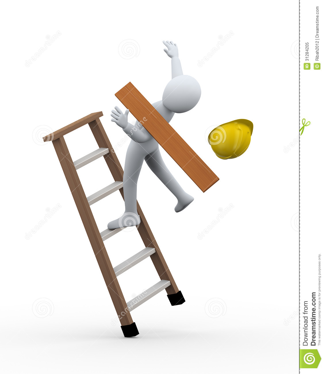 3d worker falling from ladder royalty free stock photo balance scale clipart black and white balance scale clipart black and white