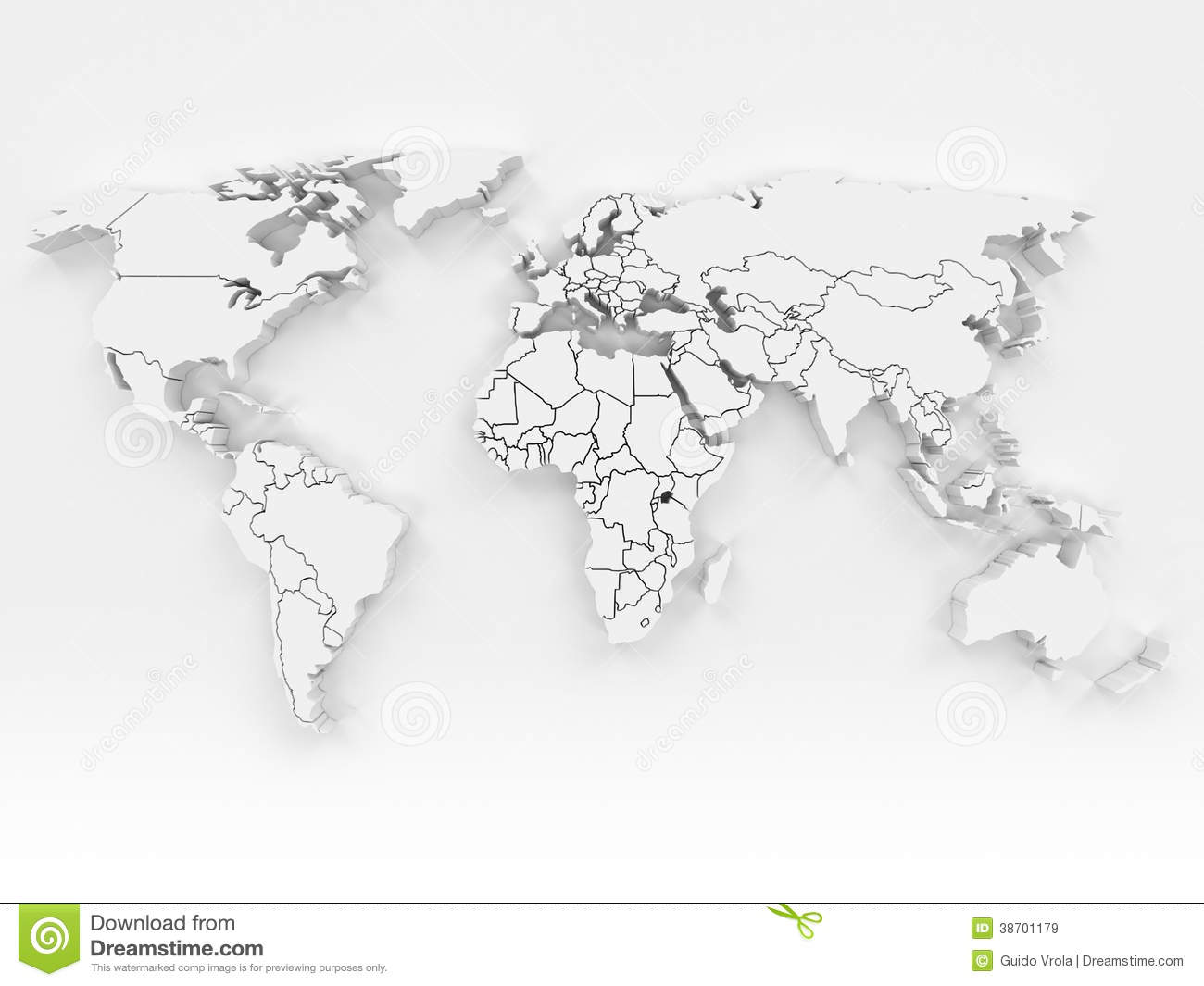 3d world map stock illustration illustration of futuristic 38701179 3d world map gumiabroncs Choice Image