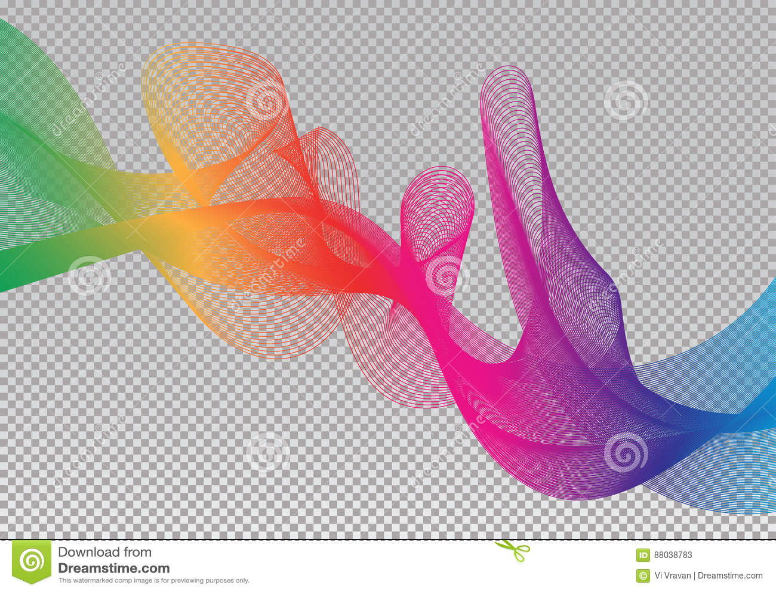 rainbow sky spectrum creative vector graphic stock vector