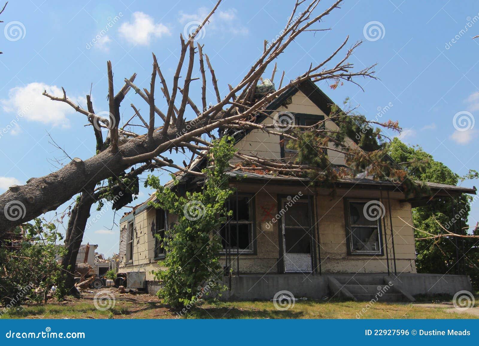 Daño del tornado