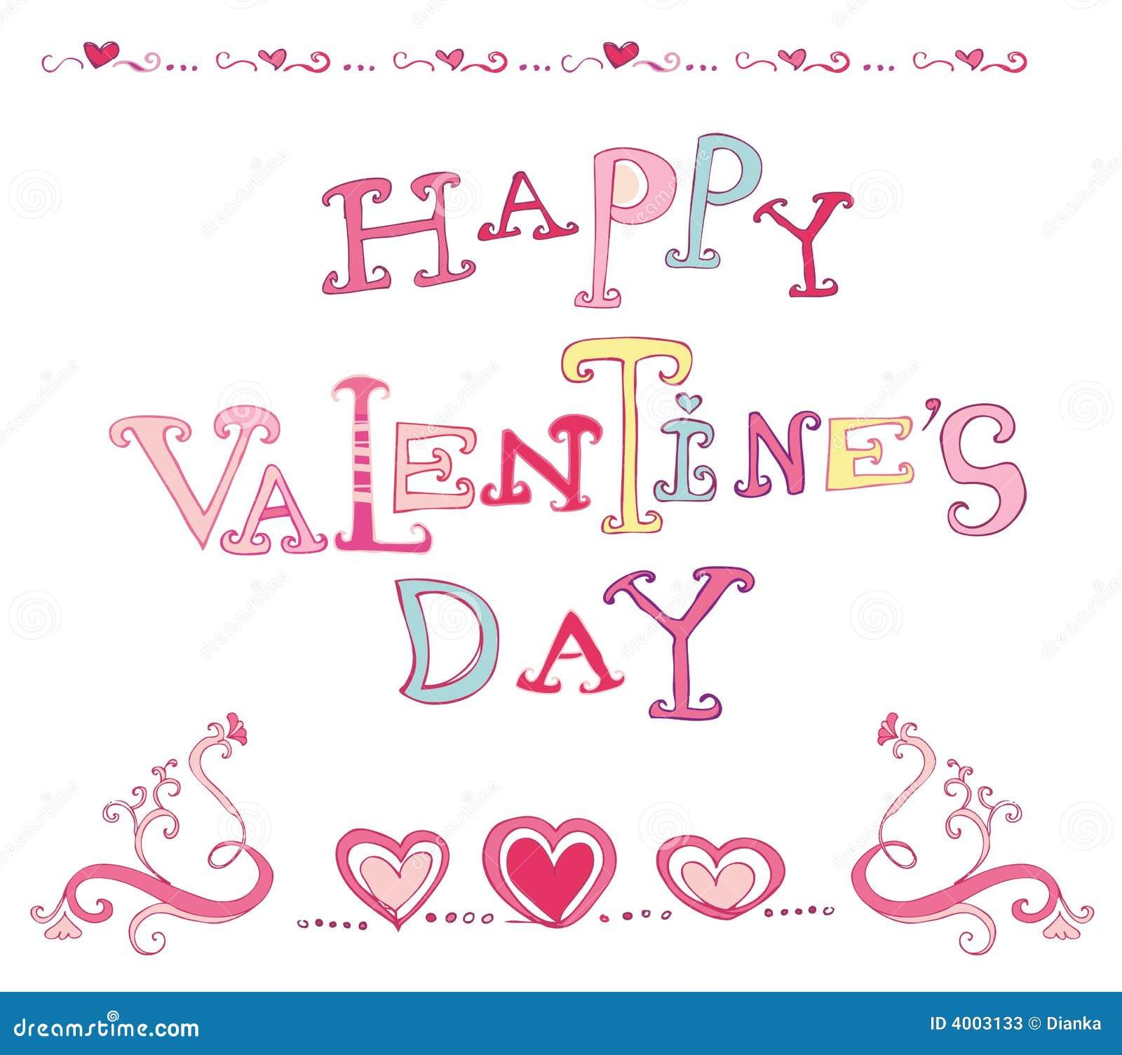 D a de tarjetas del d a de san valent n feliz fotos de - Postales dia de san valentin ...
