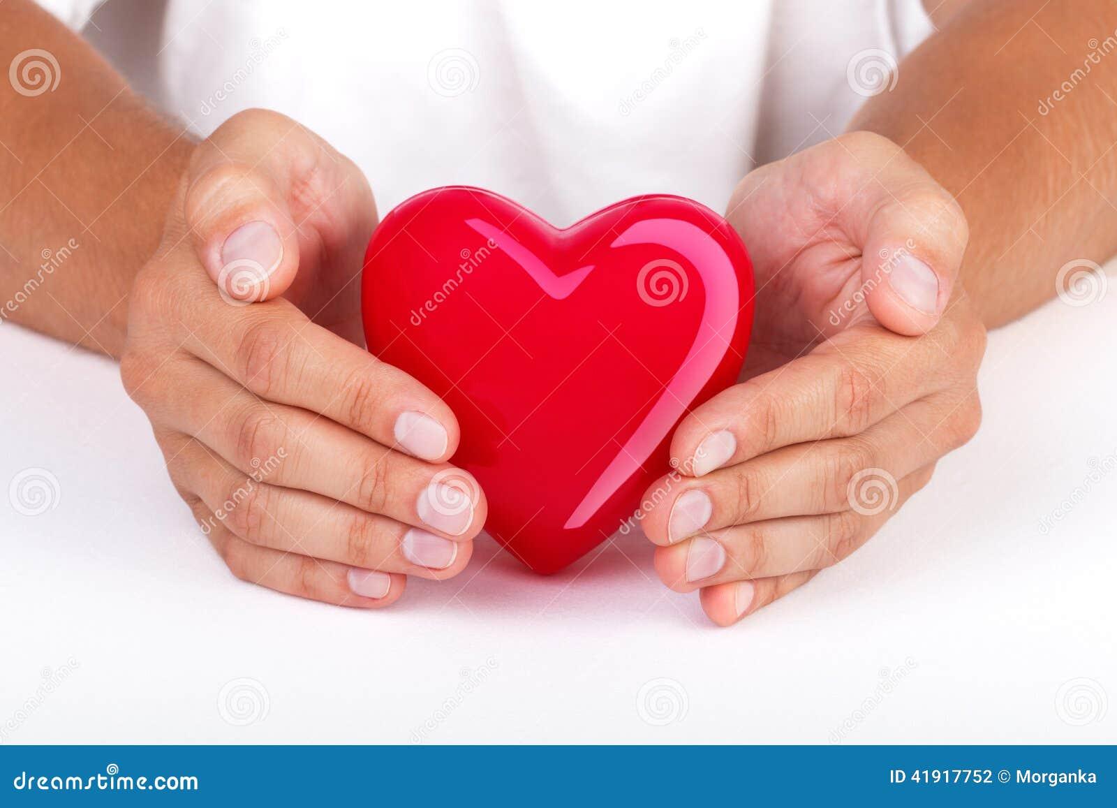 Da el corazón de protección
