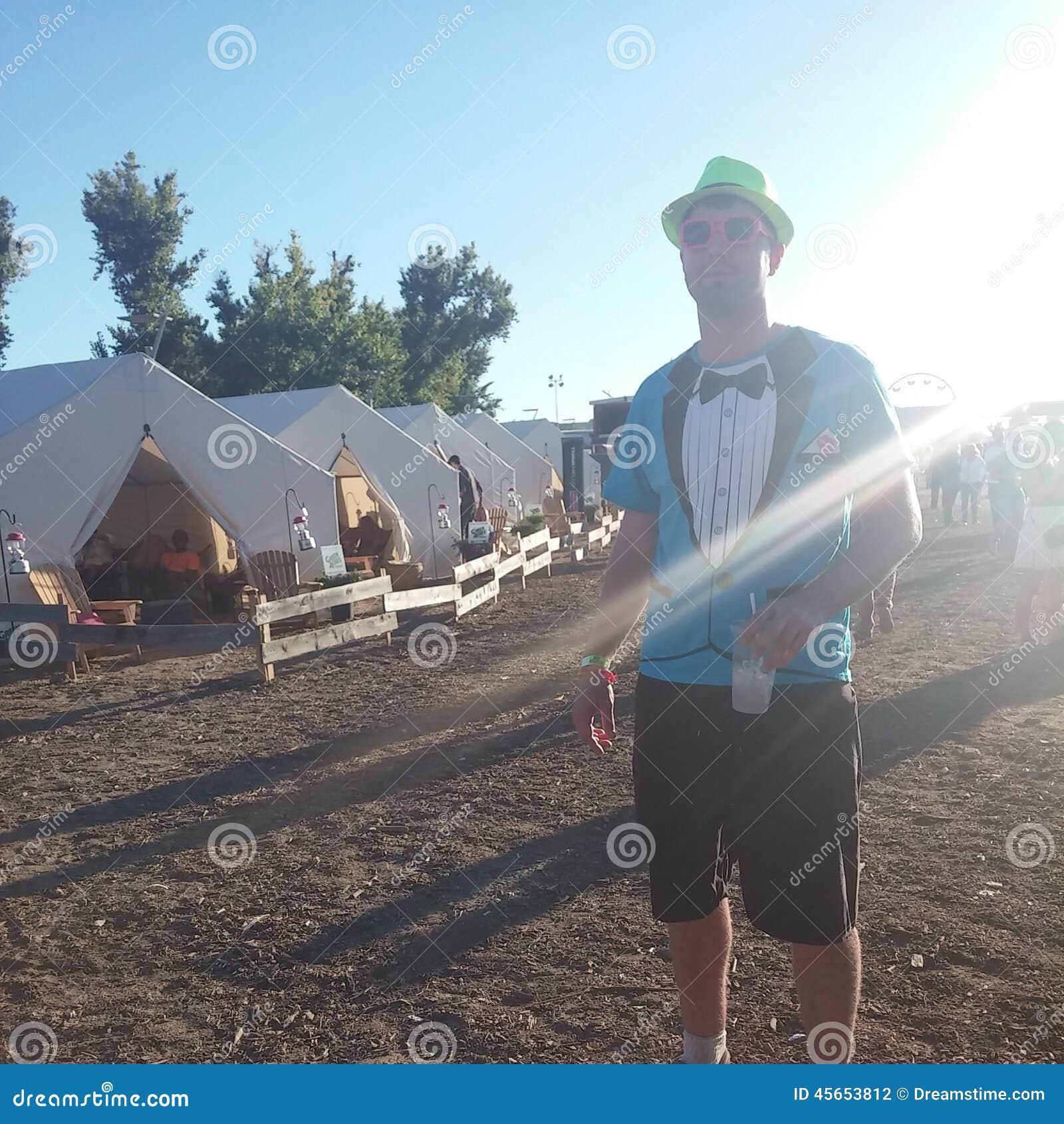 In da village camp