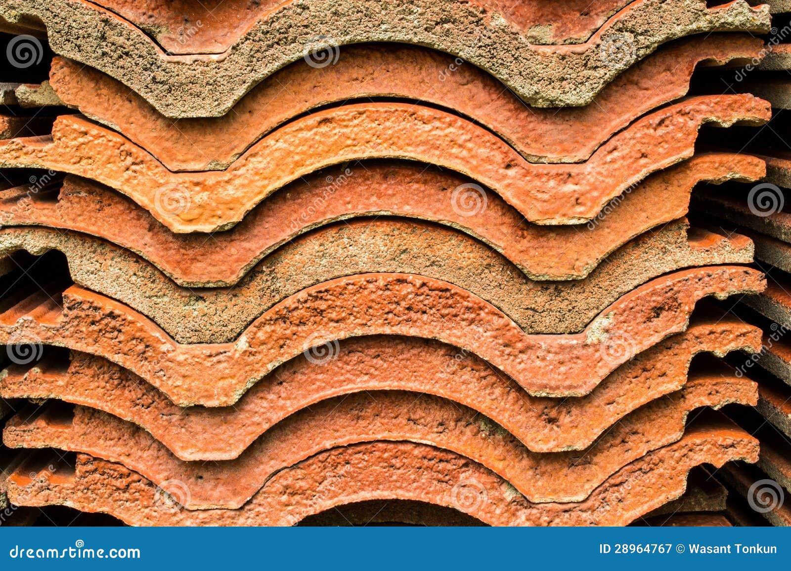 Dachówkowa glina